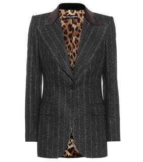 Dolce & Gabbana - Blazer mit Alpakaanteil