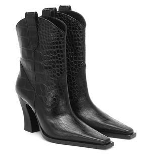 Tom Ford - Ankle Boots aus Leder