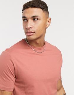 River Island - T-Shirt in Braun