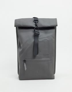 Rains - 1316 – Wasserfester Rucksack mit Umschlag in Grau