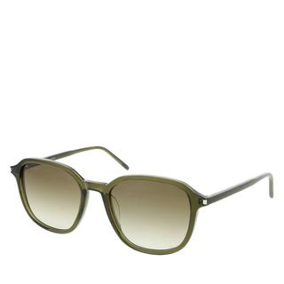 Saint Laurent - Sonnenbrille - SL 385-004 54 Sunglass UNISEX ACETATE Green - in grün - für Damen