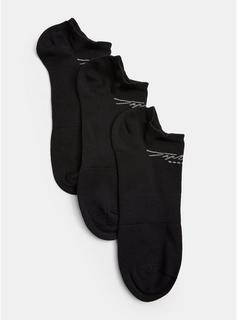 Topman - Mens Signature Gym 3 Pack Black Socks, Black