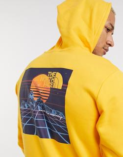 THE NORTH FACE - Throwback – Kapuzenpullover in Gelb