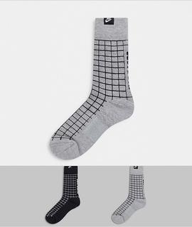 Nike - 2er-Set bunte Socken-Mehrfarbig