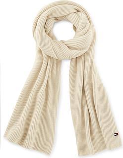 TOMMY HILFIGER - Schal Essential Knit Scarf in beige, Tücher & Schals für Damen