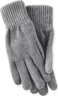 Calvin Klein - Finger-Handschuhe in mittelgrau, Mützen & Handschuhe für Damen