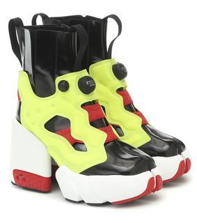 Maison Margiela - X Reebok Ankle Boots Instapump Fury