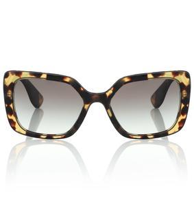 Miu Miu - Oversize-Sonnenbrille