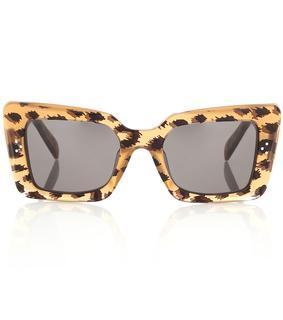 Celine Eyewear - Rechteckige Sonnenbrille aus Acetat