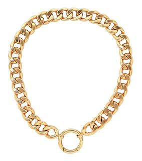 MM6 Maison Margiela - Vergoldete Halskette