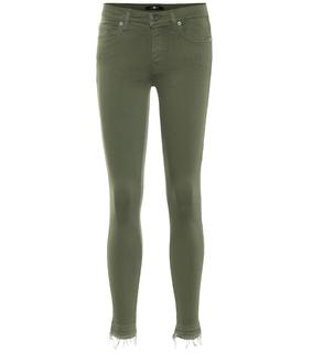 7 for all mankind - Mid-Rise Jeans The Skinny