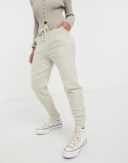 New Look - Jogginghose in Hellbeige, Kombiteil