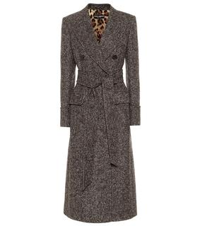 Dolce & Gabbana - Mantel mit Alpakaanteil