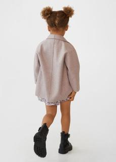 MANGO BABY - Gerader mantel mit revers