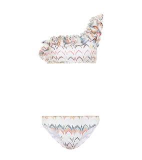 Missoni Mare - One-Shoulder-Bikini aus Strick