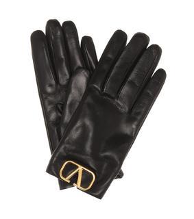 Valentino Garavani - Handschuhe VLOGO aus Leder