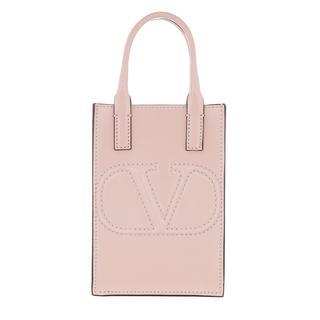 Valentino - Umhängetasche - Smartphone Crossbody Bag Leather Rose Quartz - in rosa - für Damen