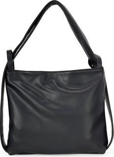 COX - Taschen-Rucksack Vegan in schwarz, Rucksäcke für Damen