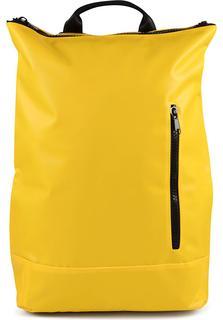 COX - Trend-Rucksack Vegan in gelb, Rucksäcke für Damen