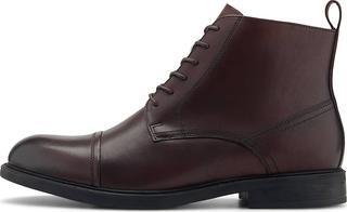 Steptronic - Schnür-Stiefelette Geneva Zd in dunkelbraun, Business-Schuhe für Herren