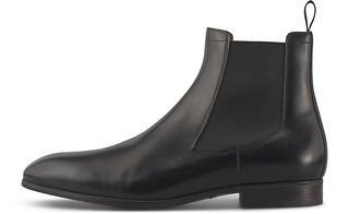Santoni - Business-Chelsea in schwarz, Boots für Herren