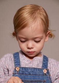 MANGO BABY - Melierter strickpullover