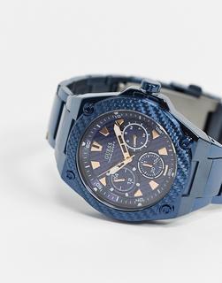 guess - Armbanduhr in Blau