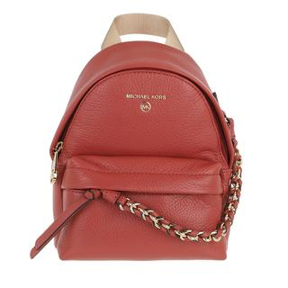 MICHAEL KORS - Rucksack - Slater Small Canvas Messenger Backpack Terracotta - in rot - für Damen