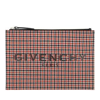 Givenchy - Clutch - Medium Pouch Checked Multi - in bunt - für Damen