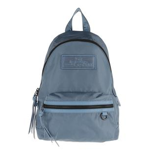 Marc Jacobs - Rucksack - The Medium Backpack DTM Rainfall - in blau - für Damen