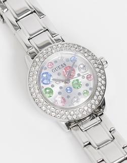 guess - Armbanduhr mit kleinem Zifferblatt-Silber