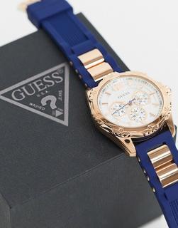 guess - Marineblaue Armbanduhr
