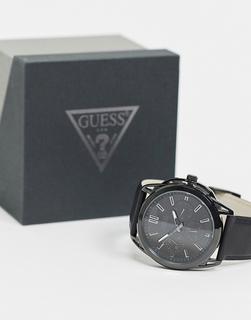 guess - Armbanduhr mit Zifferblatt in Schwarz