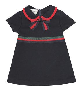 Gucci Kids - Baby Kleid aus Baumwoll-Jersey