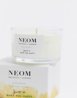 Neom - Happiness – Duftkerze in Reisegröße mit Neoli, Mimose und Zitrone-Keine Farbe