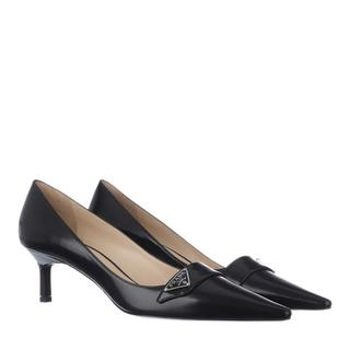 Prada - Pumps - Sling Pumps Leather Black - in schwarz - für Damen