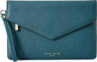 Katie Loxton - Envelope-Clutch Time To Shine Esme in mittelgrün, Clutches & Abendtaschen für Damen