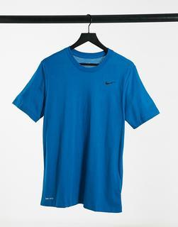 Nike Training - Dry – T-Shirt in Blau