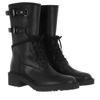 Valentino - Boots - Low Boots Leather Black - in schwarz - für Damen
