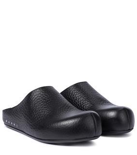 Marni - Slippers Sabot aus Leder