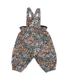 Bonpoint - Baby Jumpsuit Papaye aus Baumwolle