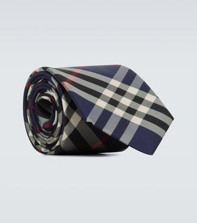 Burberry - Karierte Krawatte Manston aus Seide
