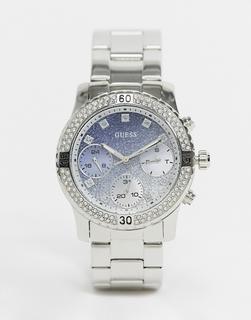 guess - Chronograf mit Armband-Silber