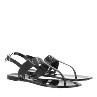 KARL LAGERFELD - Sandalen - JELLY II Stud Toe Post Black - in schwarz - für Damen