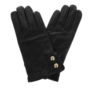 Lauren Ralph Lauren - Handschuhe - Glove Leather Black - in schwarz - für Damen