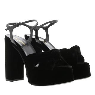 Saint Laurent - Sandalen - Plateau Sandals Black - in schwarz - für Damen