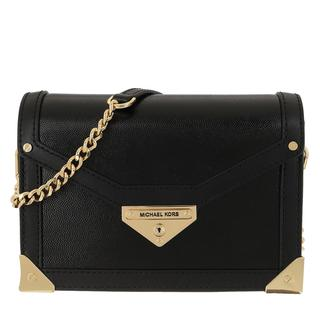 MICHAEL KORS - Umhängetasche - Small Trunk Crossbody Leather Black - in schwarz - für Damen