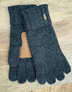 Polo Ralph Lauren - Touchscreen-Handschuhe in Grau