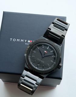 TOMMY HILFIGER - Princeton – Armbanduhr für Herren in Schwarz