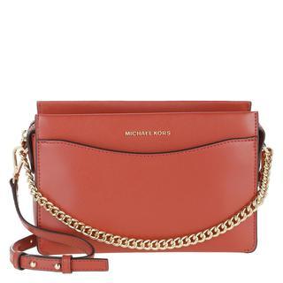 MICHAEL KORS - Umhängetasche - Large Convertible Chain Crossbody Bag Terracotta - in rot - für Damen - 188.00 €
